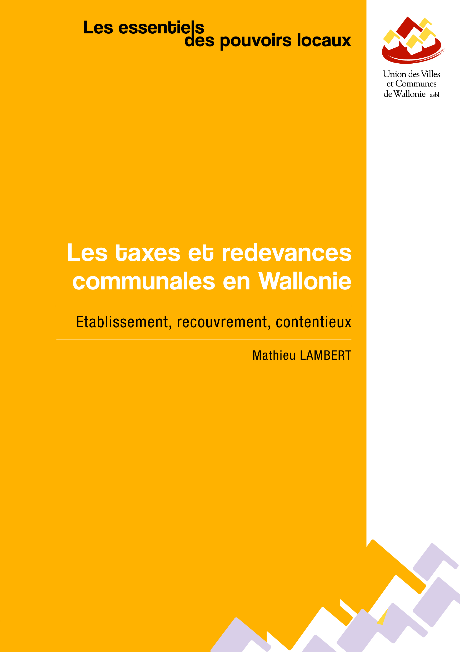 Les taxes et redevances communales en Wallonie