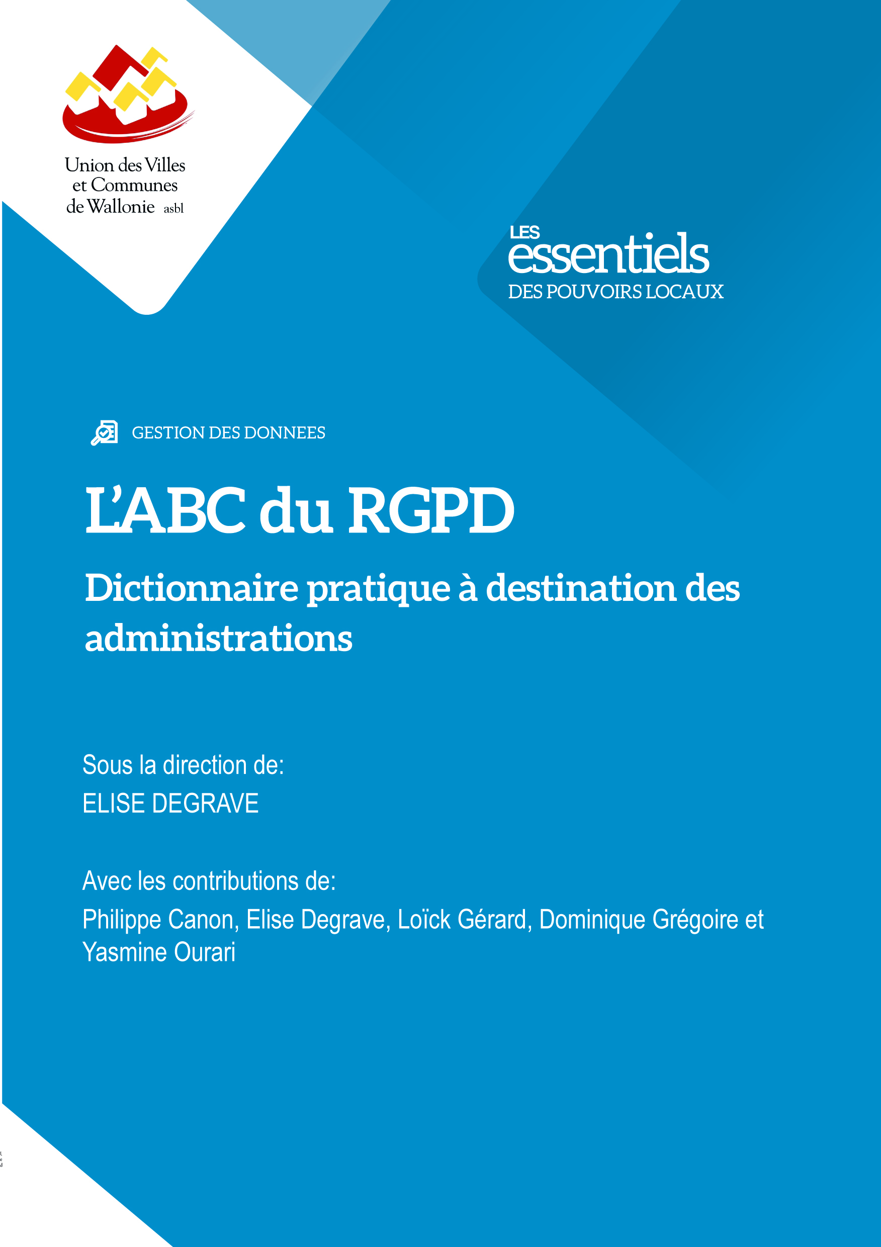L'ABC du RGPD: dictionnaire pratique à destination des administrations
