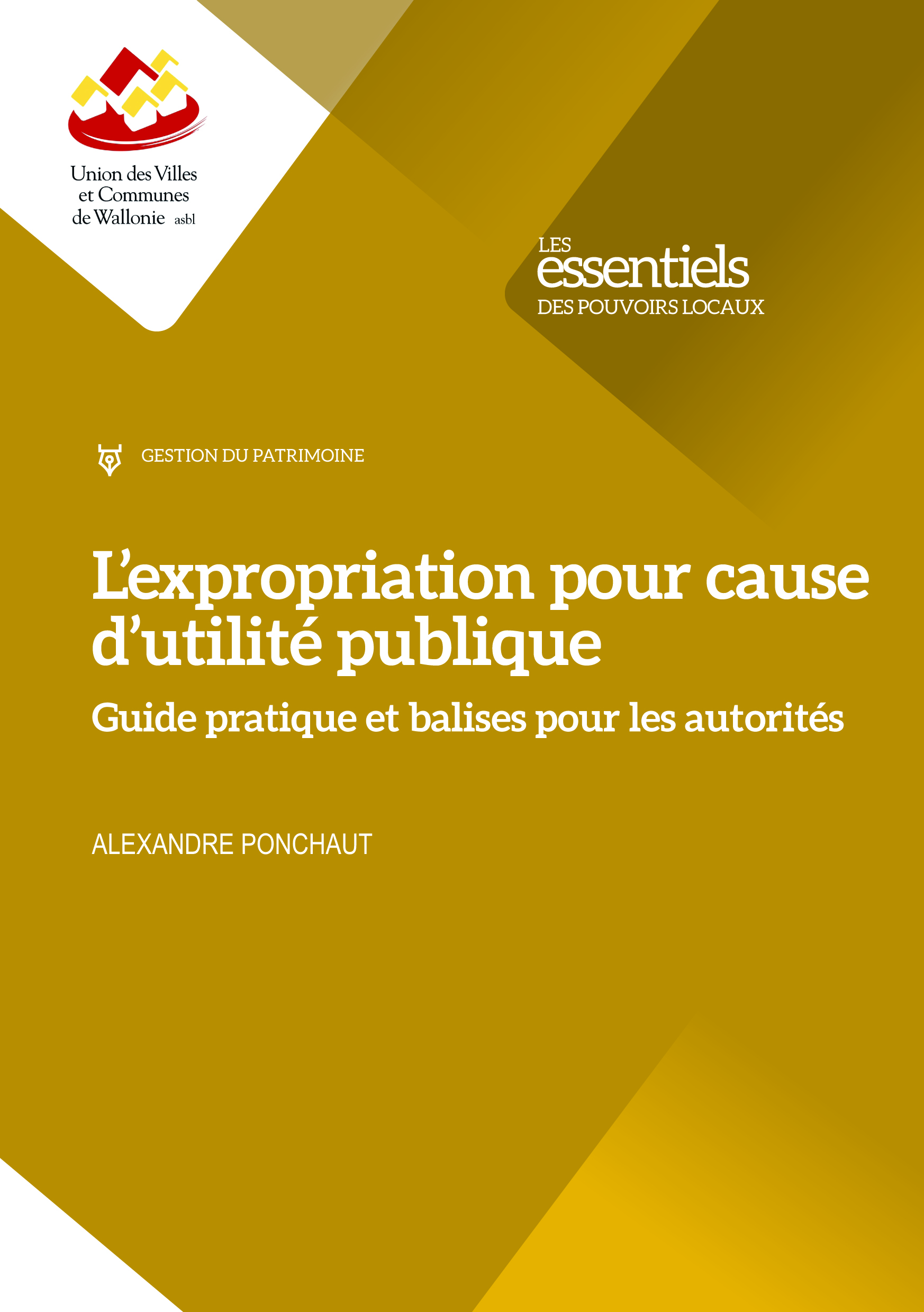 Cover: L'expropriation pour cause d'utilité publique